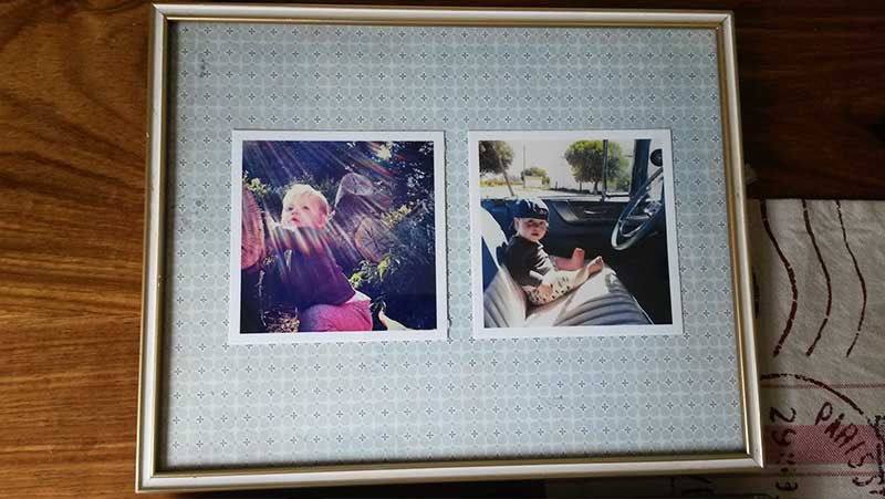 An Easy DIY for Re-Purposed Vintage Picture Frames