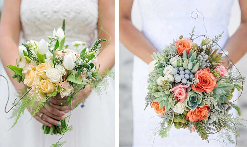 Fresh & Rustic Bouquets