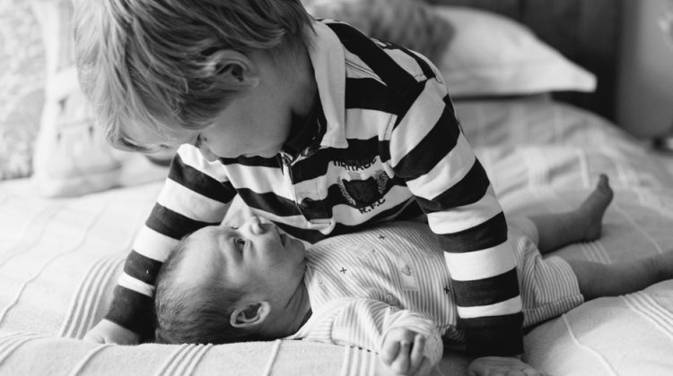 Seven Weeks In: Learning to Be a Mom of Boys