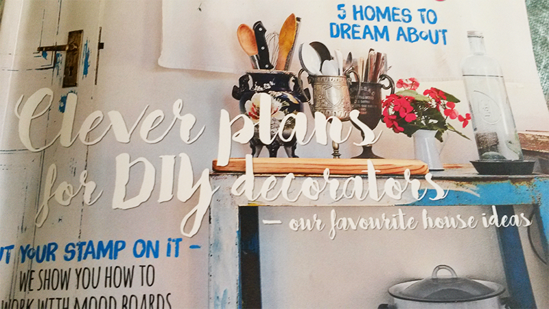 Getting Scrappy with Ideas Magazine Decor Issue